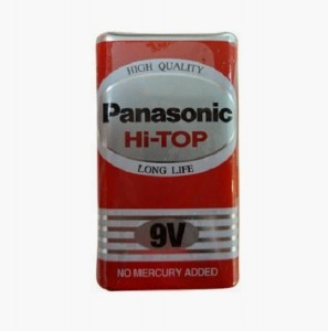 Pin Panasonic 6LF22/9Volt